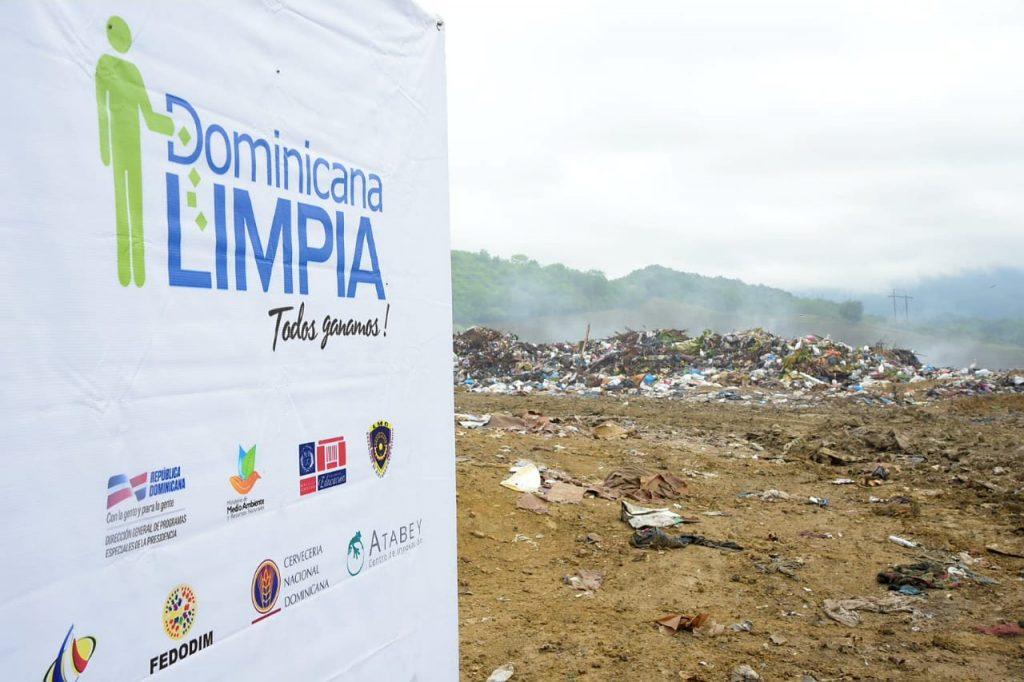 Dominicana Limpia realiza cierre técnico del vertedero de Tamboril en Santiago