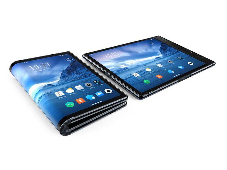 FlexPai: así se dobla por la mitad (sin romperse) el nuevo móvil de la compañía Royole