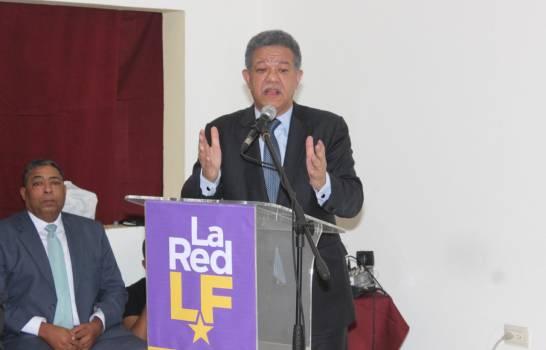 Leonel Fernández radicaliza su discurso ante el desafío del danilismo