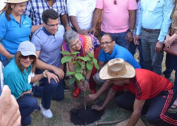 Concejo Municipal del ADN inicia programa de siembra de árboles.