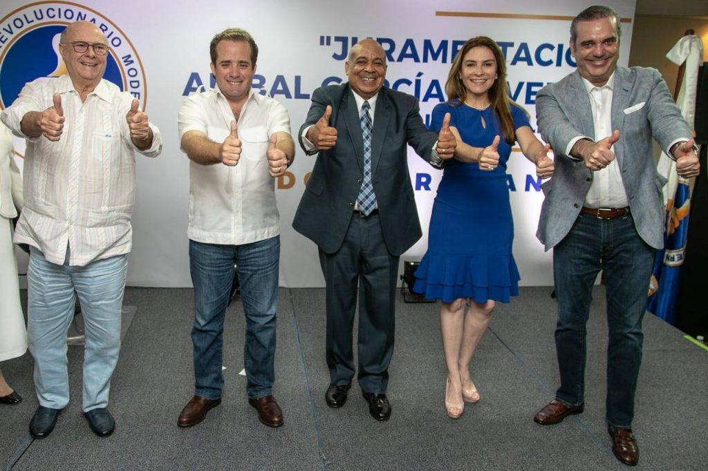 Al grito ¡Unidos para Ganar! PRM juramenta a Aníbal García Duvergé y a su equipo político
