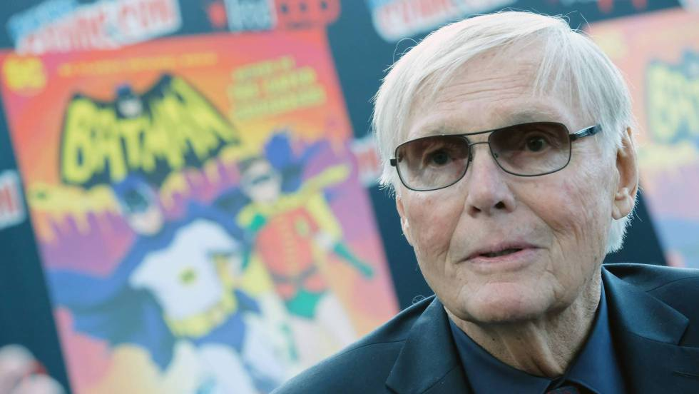 Muere Adam West, el primer Batman de la televisión