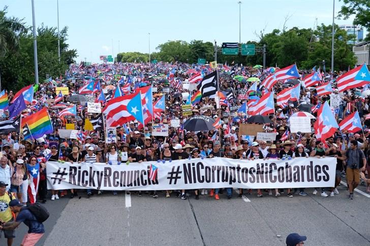 Marcha masiva hoy para exigir la renuncia de Ricardo Rosselló