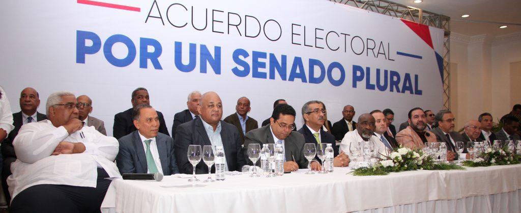 12 partidos suscriben Gran Acuerdo Senatorial  por el Cambio; procuran Congreso plural