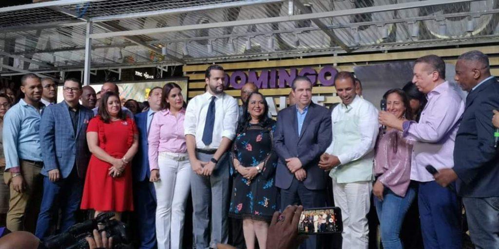 Francisco Javier García resalta liderazgo politico de Domingo Contreras y asegura una contundente  victoria del PLD en la alcaldía del Distrito Nacional.