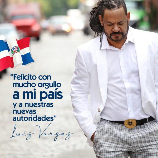 Luís Vargas felicita a Luís Abinader y a la República Dominicana