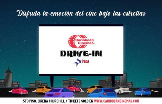 """""""Caribbean Cinemas Drive-In Sirena"""" con proyección digital láser llega a República Dominicana"""