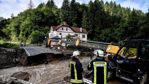 Inundaciones en Alemania: Schuld, el pueblo donde hay decenas de desaparecidos tras ser arrasado casi por completo por las fuertes lluvias que afectan a Europa