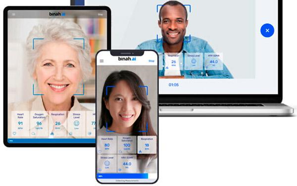 Una startup israelí permite a los usuarios comprobar los signos vitales mirando sus teléfonos inteligentes